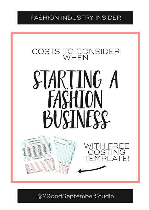 Business Plans 101 How To Write A Business Plan For Any Business In 2020 Fashion Business Plan Business Fashion Business Design