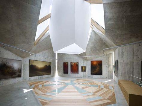Fabulous Mecenat Art Museum Naf Architect museum architecture natural lighting concrete architecture japan exhibition space AR Wele Center Pinterest