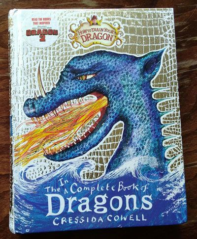 The Incomplete Book Of Dragons By Cressida Cowell Book Dragon