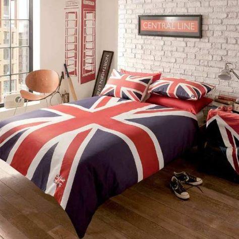 london union jack 2012 reversible duvet cover set multi double rh pinterest it