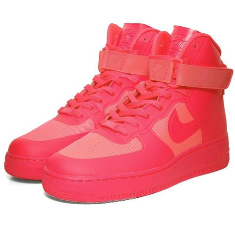 Nike Air Force 1 Hi Hyperfuse PRM Solar Red | Shoe brands
