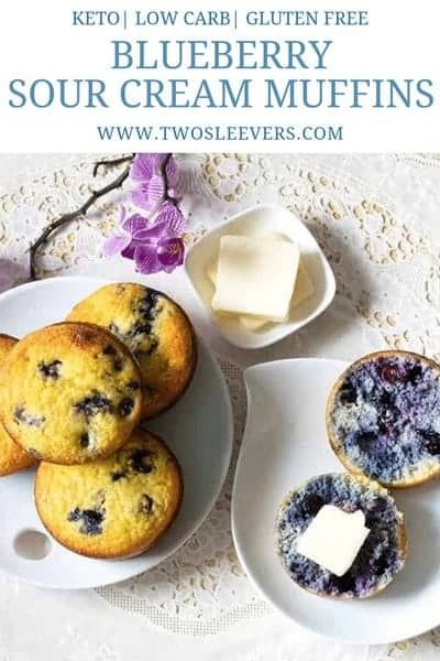 Blueberry Sour Cream Muffins Keto Blueberry Sour Cream Muffins Low Carb Blueberr Sour Cream Blueberry Muffins Sour Cream Muffins Low Carb Blueberry Muffins