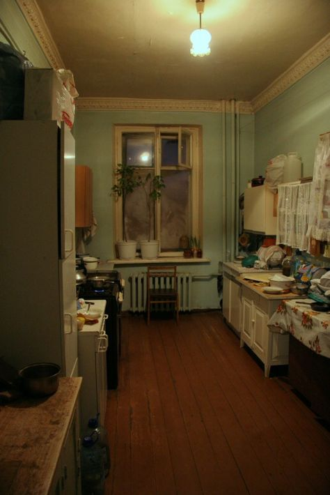 Communal Apartments in Russia - Isolation and privacy was a luxury in the Soviet period, and both new and old tenants were under a total control – spying and ratting on was a common thing. My New Room, My Room, Interior Exterior, Interior Design, Old Apartments, Living Spaces, Russia, Sweet Home, Room Decor