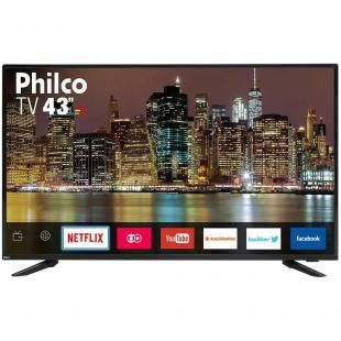 Smart Tv 43 Led Philco Ptv43e60sn Full Hd Com Wi Fi 2 Usb 3