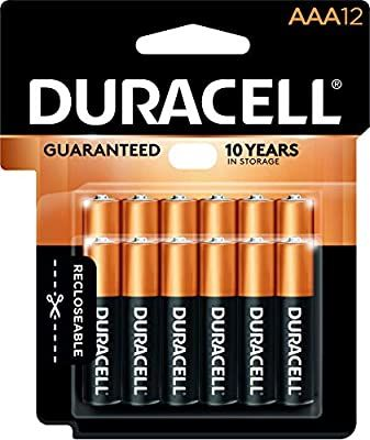 Amazon Com Duracell Coppertop Aaa Alkaline Batteries Long Lasting All Purpose Triple A Battery For Household And Duracell Alkaline Battery Aaa Batteries