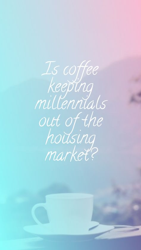 There is much criticism surrounding the position of many millennials in their ability to afford a home. We discuss some of the myths surrounding why millennials have such a rough position in becoming first time home owners. #millennial #housingcrisis #homeowner #homeownership #millennialfinance #housingmarket #expensivecoffee #savingmoney #frugality #houseprices #youngliving #lifestyle #financemyths #coffee