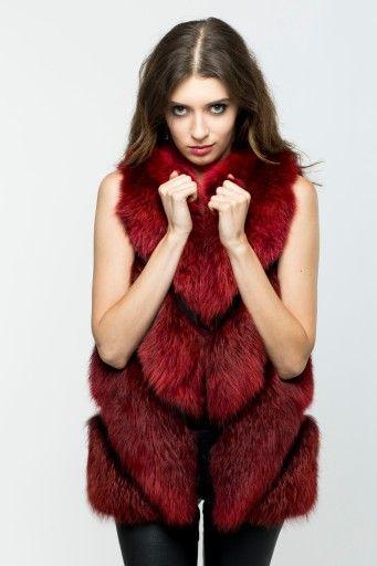 Futro Lisy Kamizelka Naturalne S 7568346161 Oficjalne Archiwum Allegro Fur Style Fur Coat