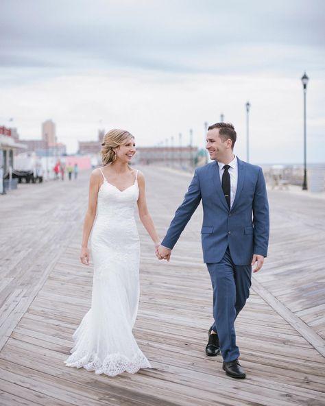 So Beach Day Today Bridget Tom At Their Low Key Asbury Park Wedding Bride Groom Wedding L In 2020 Nj Bride Nj Wedding Photographer Park Weddings