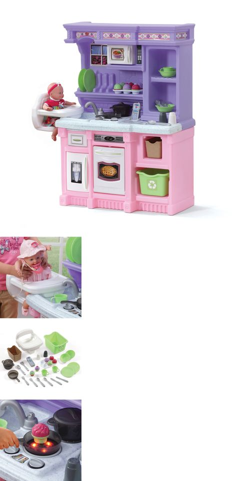 kitchens 158746 step2 little bakers kitchen with 30 piece accessory set pretend cookware play buy it now only 9999 on ebay kitchens little bakers - Step2 Little Bakers Kitchen