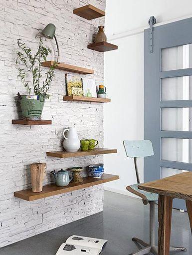 Shelves, Shelving and Walls