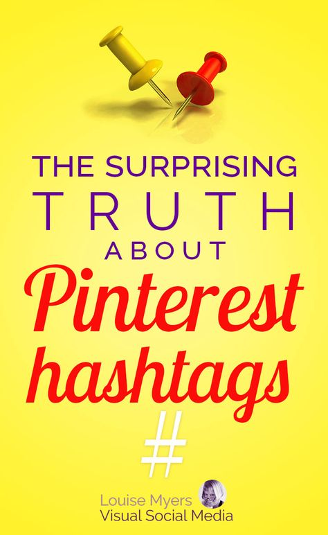 Pinterest marketing tips: Should you use hashtags on Pinterest? Click to read the official stance from Pinterest HQ, plus thoughts on how hashtags might hurt your repins, traffic, and sales. #hashtags #marketing