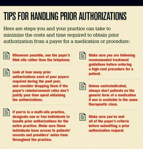 Prior Authorizations Nursing lol Pinterest - prior authorization form