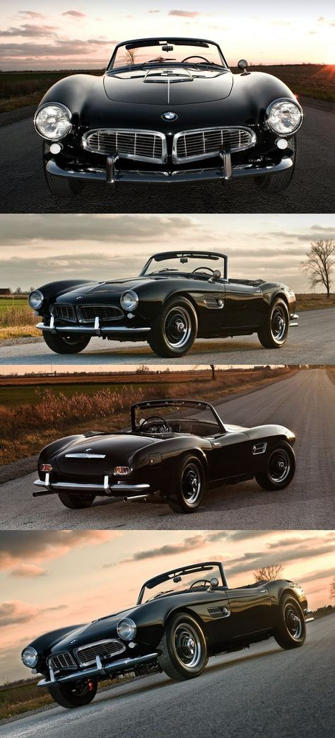 The Vintage Bmw 507 Roadster History The Bmw 507 2 Doors Roadster Is A Very Spec Bmw 507 Bmw Classic Cars Classic Sports Cars