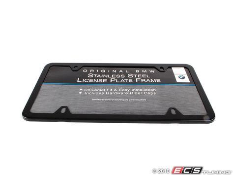 License Plate Frame Black License Plate Frames Frame Bmw