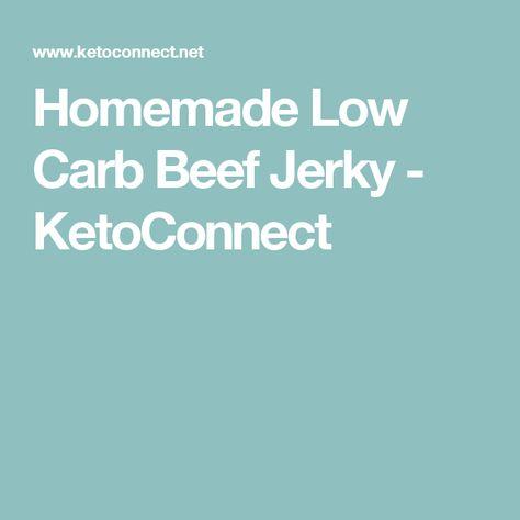 Low Carb Beef Jerky | Recipe | Beef jerky, Jerky, Carbs
