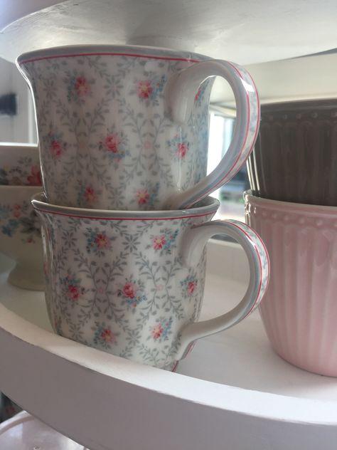 GreenGate Tea Mug Daisy