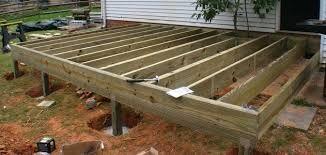 Image Result For Wood Deck Framing Building A Deck Frame Deck