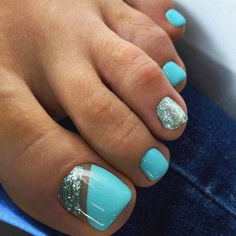 40 Chic And Trendy Toe Nails Art Ideas To Try In 2020 Summer - Hey! Pretty babies, summer is here. Are you ready for cute, trendy, and chic toes nail - Pretty Toe Nails, Cute Toe Nails, Gel Toe Nails, Pink Toe Nails, Gel Toes, Pastel Nails, Gold Nails, White Nails, Glitter Nails