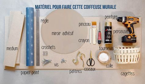 Hand Held//Coiffeuse Miroir