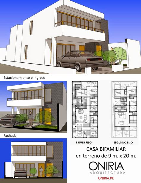 detailed architectural stimate of casa de