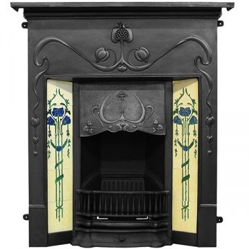 Carron Valentine Cast Iron Combination Fireplace In 2020 Art