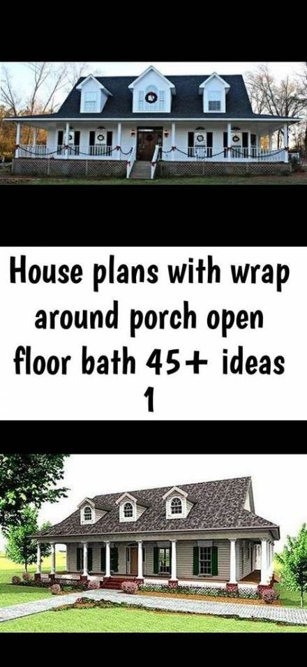 15 Trendy Ranch House Plans With Wrap Around Porch Small House Plans Farmhouse A Frame House Plans Affordable House Plans