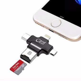 3in1 OTG Card Reader Micro USB Type C 3.1 TF Adapter For LG G8 G7 V50 ThinQ Lot