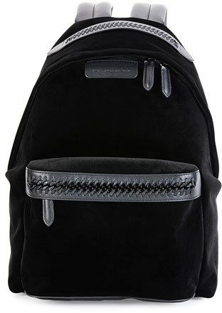fb39860de67b Stella McCartney Falabella Go Medium Velvet Backpack