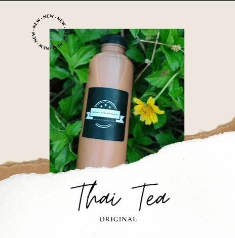 Resep Thai Tea Original Thai Green Tea Untuk Jualan Oleh Ubai Resep Di 2020 Teh Hijau Teh