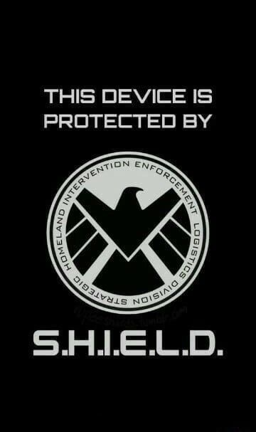 Shield Wallpaper Background E Lockscreen Superhero Wallpaper