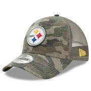 4962d3fb Pittsburgh Steelers Camo Woodland Trucker Hat | Steelers Home and ...