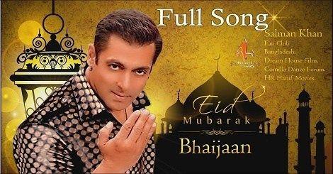 Mubarak Eid Mubarak Song Mp3 Download Mr Jatt Salman Khan Ft Sonu Nigam Hindi 2020 In 2020 Mp3 Song Download Songs Eid Song