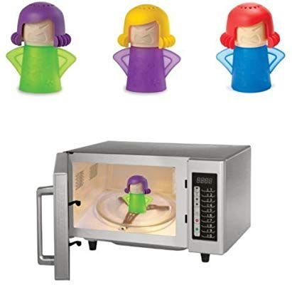 Microwave Steam Cleaner Angry Mom