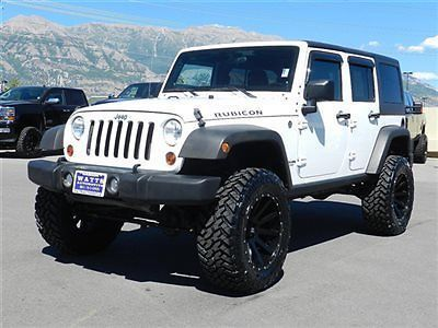 Jeep Wrangler Rubicon Unlimited 4x4 Hardtop Custom Lift Wheels