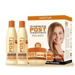 Kit Tratamiento Post Alisado Keratina Kativa Keratin Personal