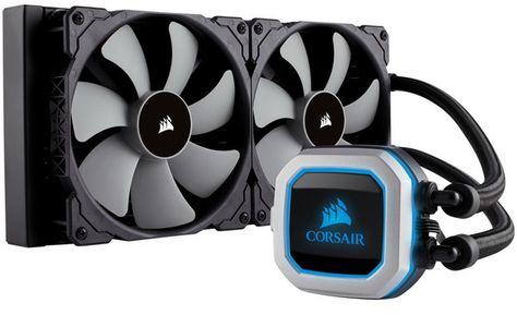 Corsair Hydro H115i Pro Low Noise 280mm Rgb Liquid Cpu Cooler