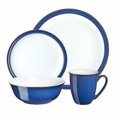 Denby Imperial Blue Boxed Tableware Set 16 Piece Tableware Set