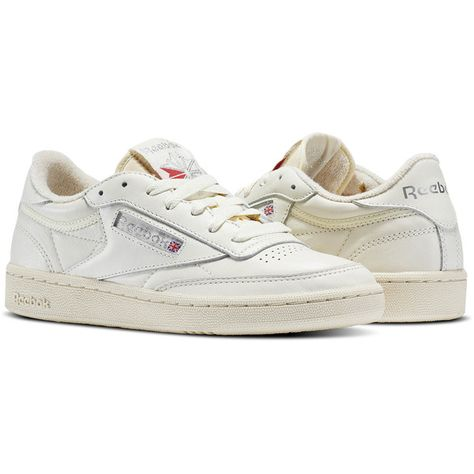 Reebok Club C 85 Vintage ( 75) ❤ liked on Polyvore featuring shoes 15baf5c0e