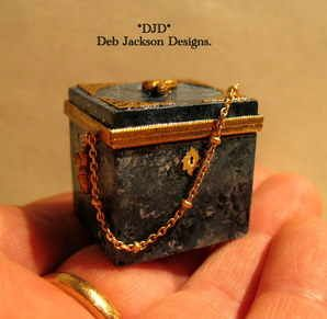 1. Vanity box.(jt-beautiful vanity box by Deb Jackson)