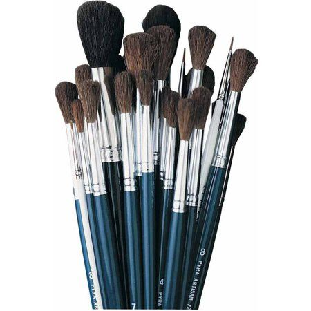 Jack Richeson Watercolor Brush Class Pack 36 Brushes Blue