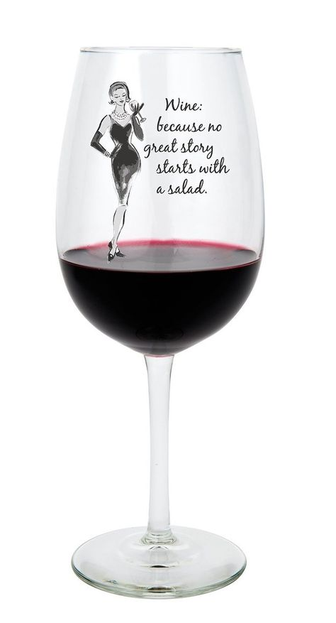 For when you're trying to get the party started… | 21 Wineglasses That Understand Your Struggle