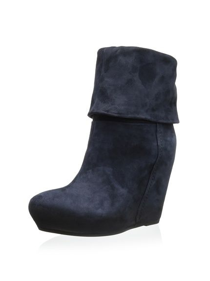 2a3e52c54f1 Manolo Blahnik  Pascalare Suede Wedge Boot - Neiman Marcus