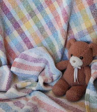 Kit Information Hand Woven Blanket Rigid Heddle Weaving Woven Blanket