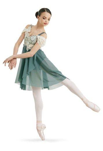 Lace Applique Empire Dress   Weissman®