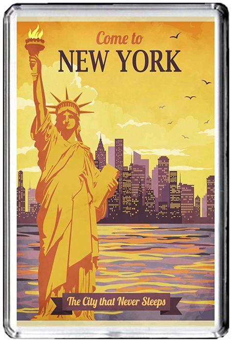 New York//fridge magnet Aimant de r/éfrig/érateur