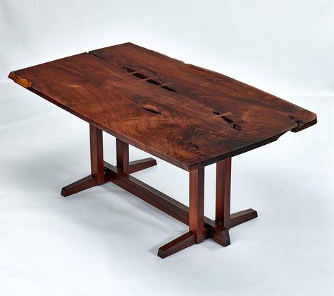 George Nakashima Masterwork Single Board Solid Rosewood Table