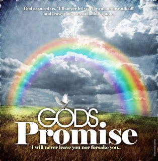 A Christian S Take On Friday The 13th Flowing Faith Gods Promises Rainbow Promise Faith
