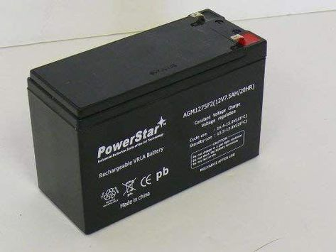 Powerstar Upgrade 9ah Battery For 12v 8ah Security Alarm Battery 7ah Gs Portalac Pe12v7 Review Homesecuritysystems Home Security In 2019 Home Security Sys
