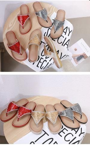 Beach slippers flip flops, Cute flip