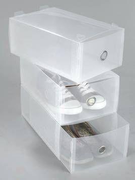 Schubladen Boxen Fur Schuhe Schuh Aufbewahrung Transparent 3er Set 3erset Fur Schubla Schuhbox Schuhaufbewahrung Aufbewahrungsbox